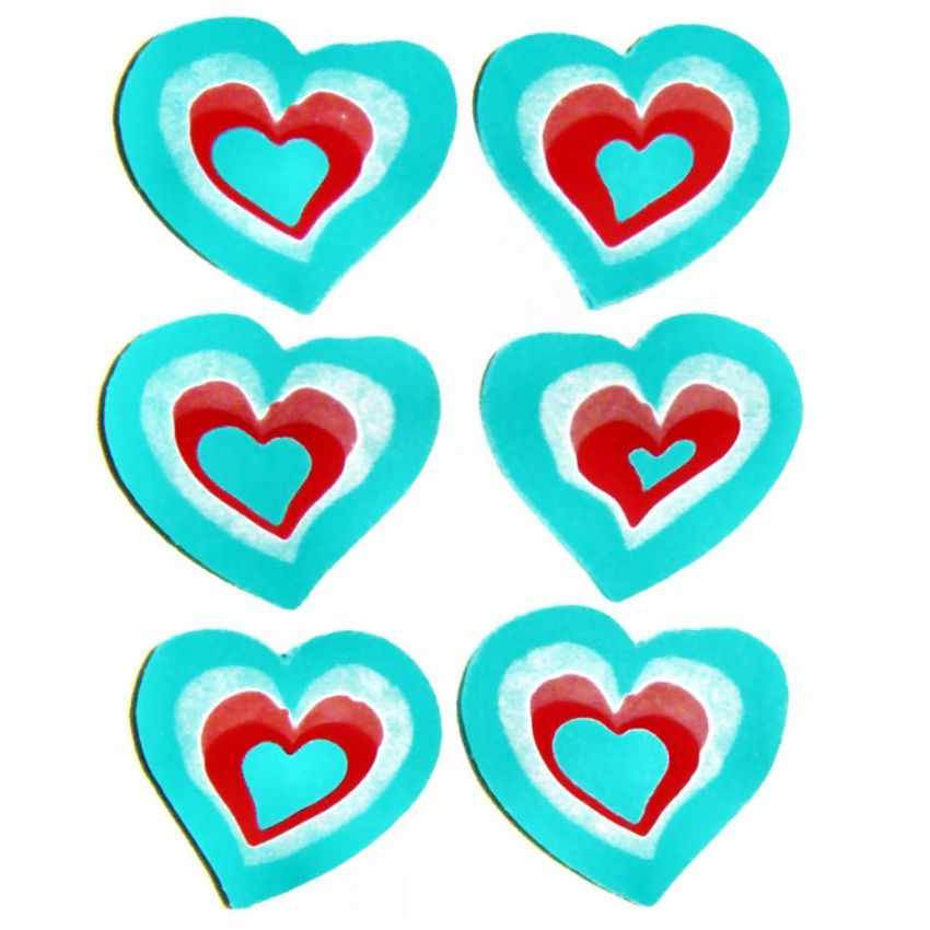 20 x Love Hearts Erasers Novelty Rubbers (Sets of 6) Wholesale Bulk Buy